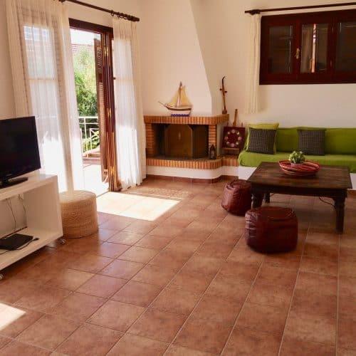 Aspasia Beach House Living Area