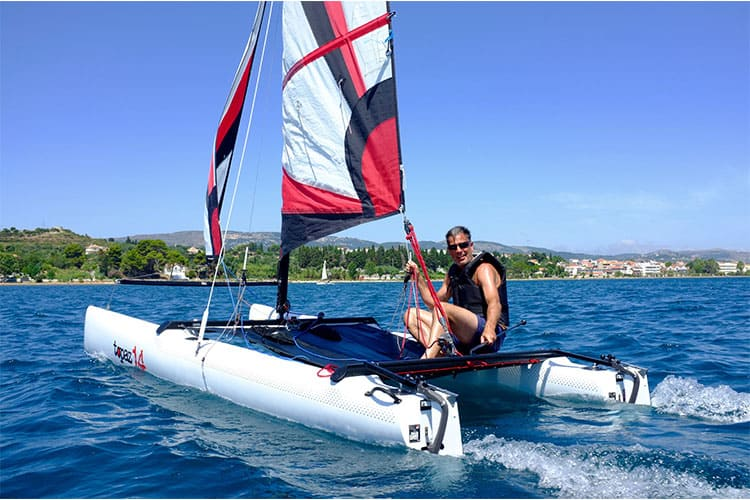Catamaran sailing holiday