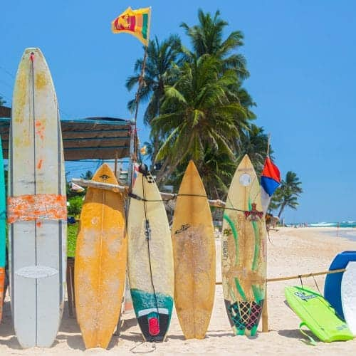 Surfing holidays
