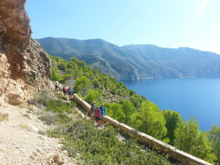 Walking Holidays in Greece, Kefalonia
