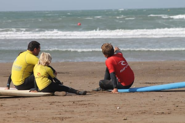 Teaching Surfing