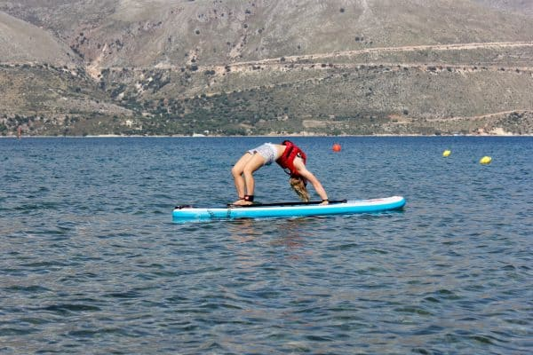 SUP Workout Active Beach Holiday