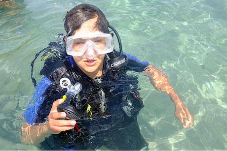 Scuba Diving in Kefalonia