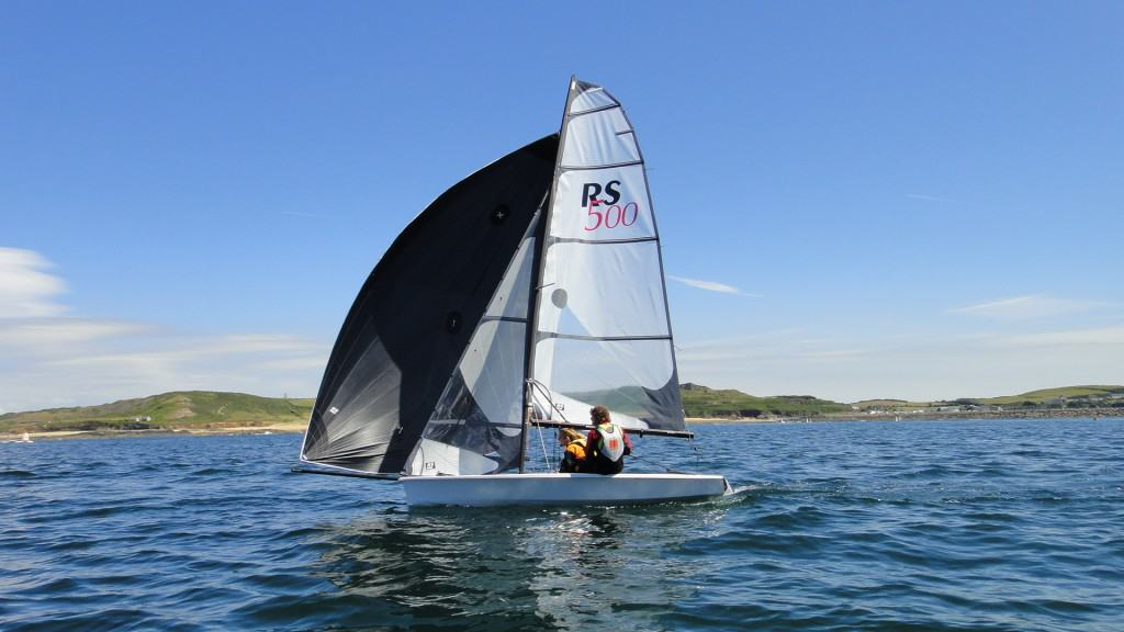 Performance dinghy sailing Greece