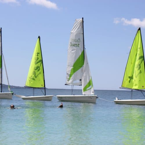 Sailing Boats in Kefalonia