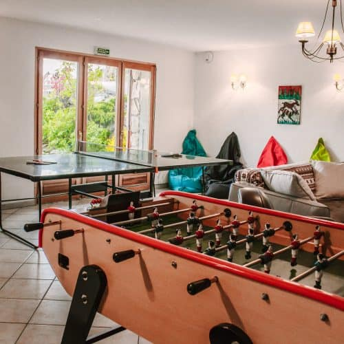 Chalet Saskia Games Room