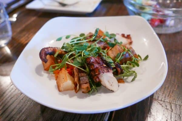 Polipo - Grilled octopus dish