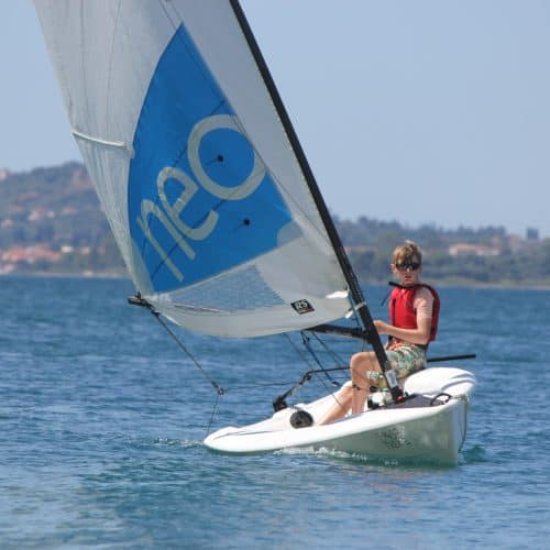 Kids Dinghy Sailing Greece