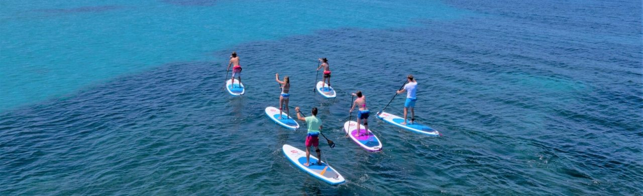 Stand Up Paddle Board Holidays in Greece