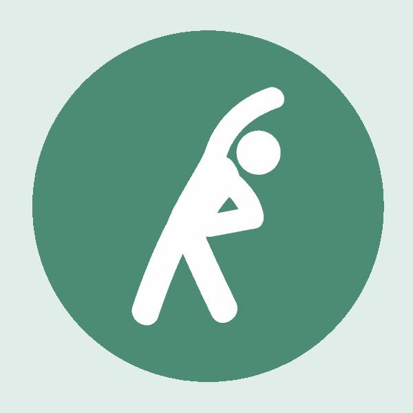 Active Trek Stretching Icon
