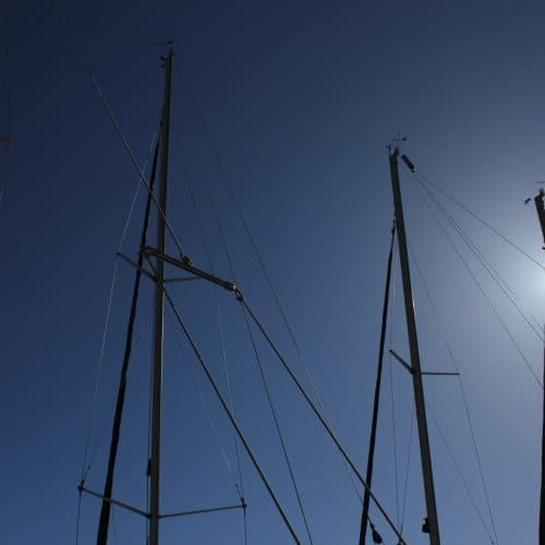Yacht Masts in Kefalonia