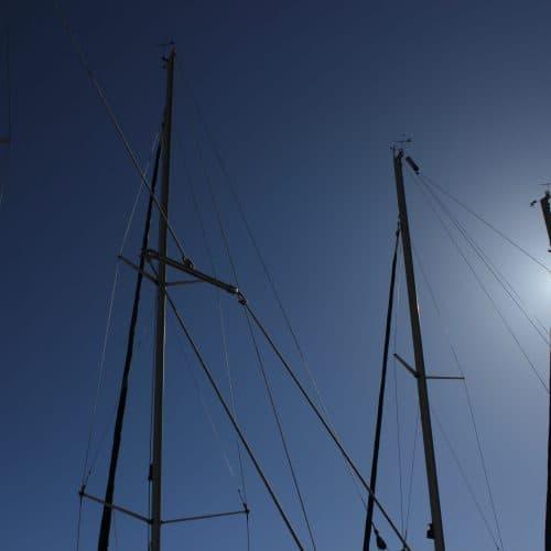 Yacht Masts in Kefalonia