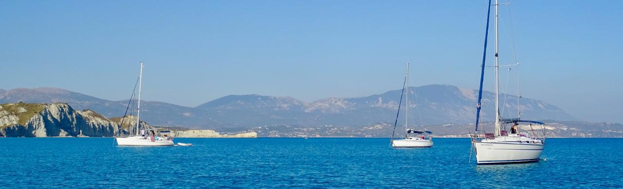 Flotilla Yachts at Anchor