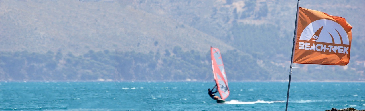 Paliki Beach Club windsurfing