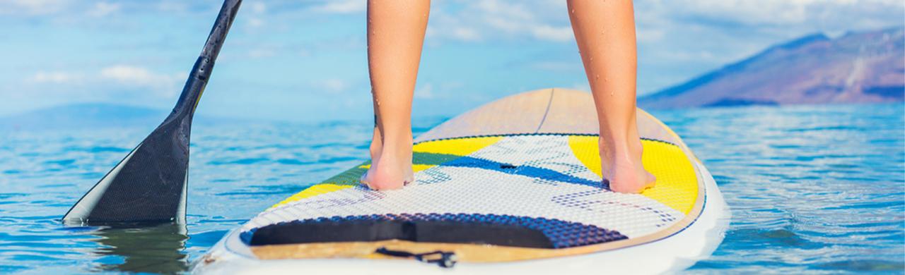Paddle Boarding Kefalonia
