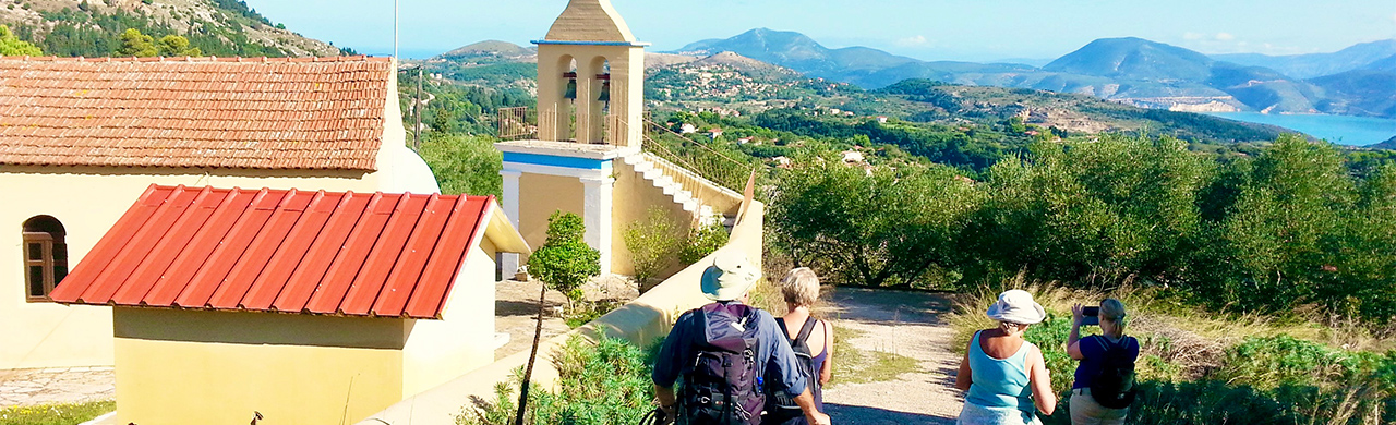 Walking Holiday Kefalonia
