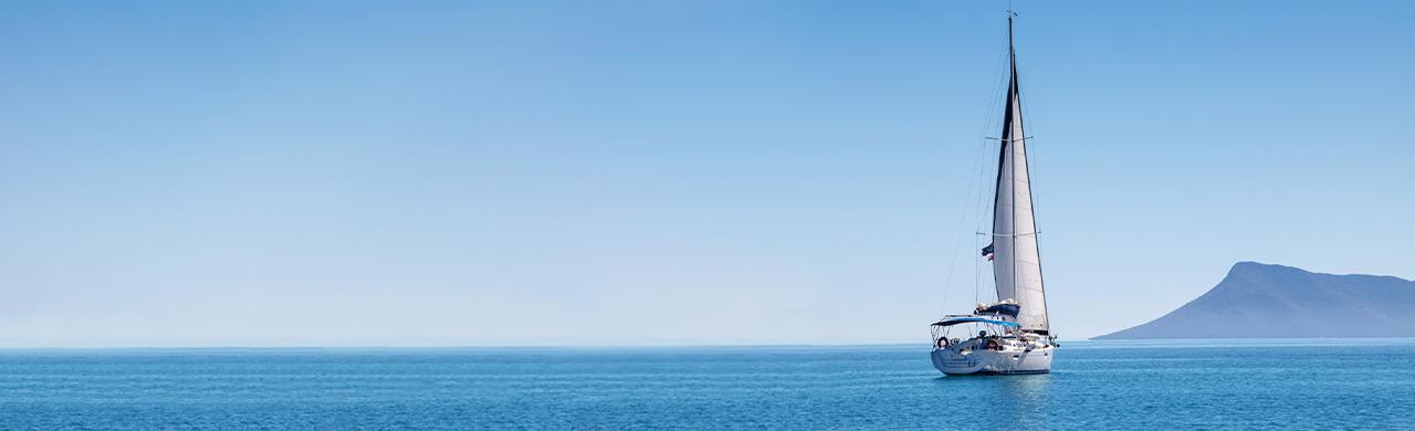 Flotilla sailing yacht