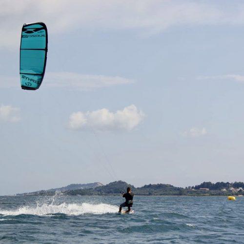 Kitesurfing in Kefalonia