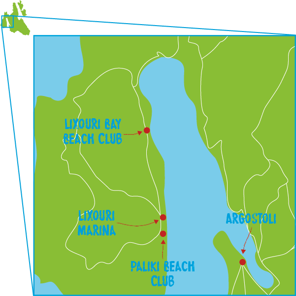 Day Yacht Map