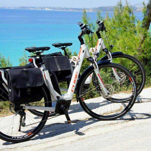 E bikes in Kefalonia