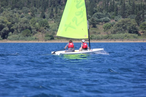 Beginner Dinghy Sailing in Greece