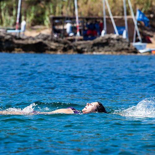 Wild swimming Kefalonia