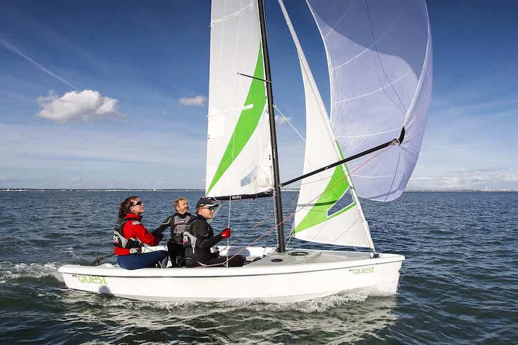 RS Quest Sailing Dinghy