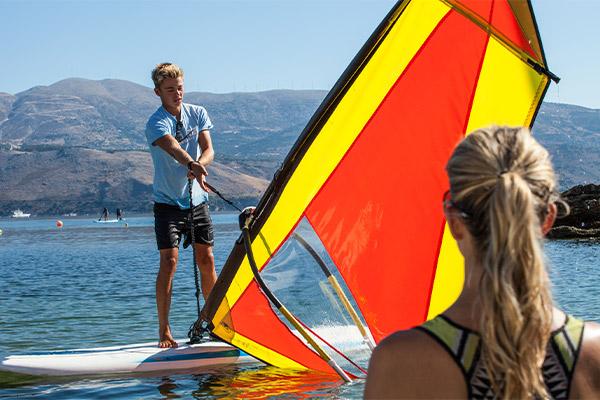 Teaching Windsurfing
