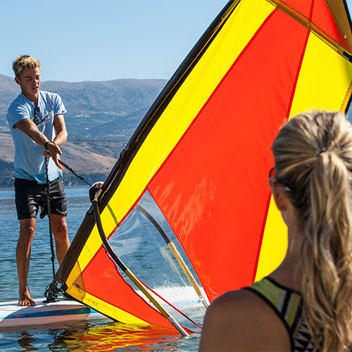Teaching Windsurfing