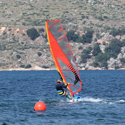 Windy Windsurfing