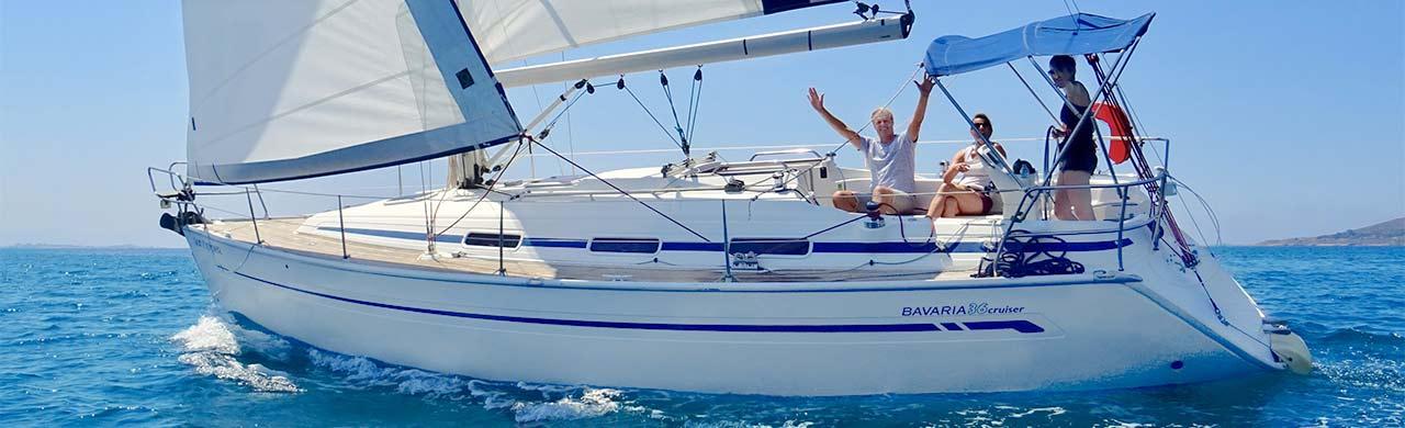 Bavaria 36 on West Coast Flotilla