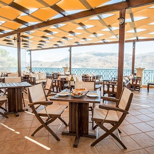 Lixouri Bay Beach Club Sea View Restaurant