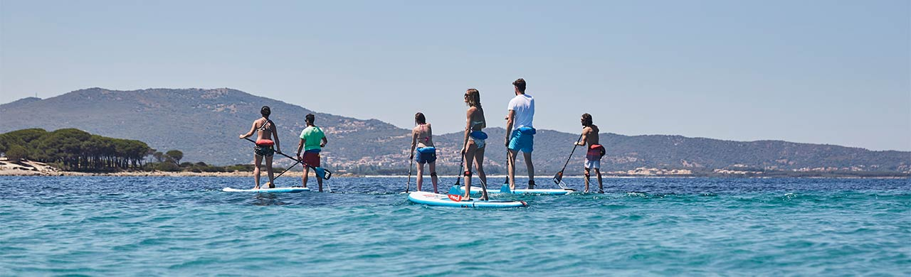 Paddle Boarding Holiday in Kefalonia Greece
