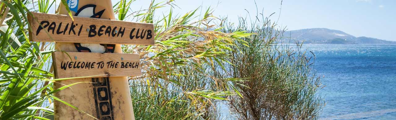 Paliki Beach Club Beach