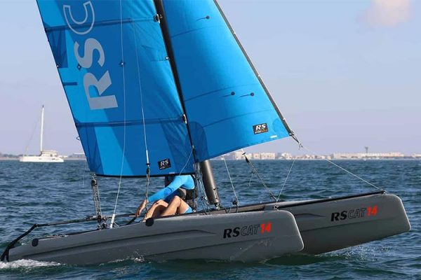 RS CAT 14 Sailing in Kefalonia Greece