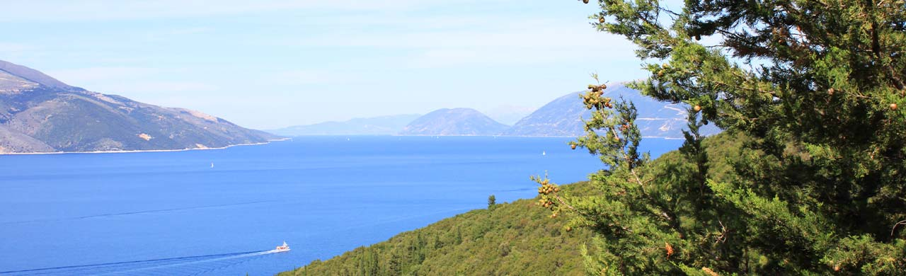 Walking holiday views in Sami, Kefalonia
