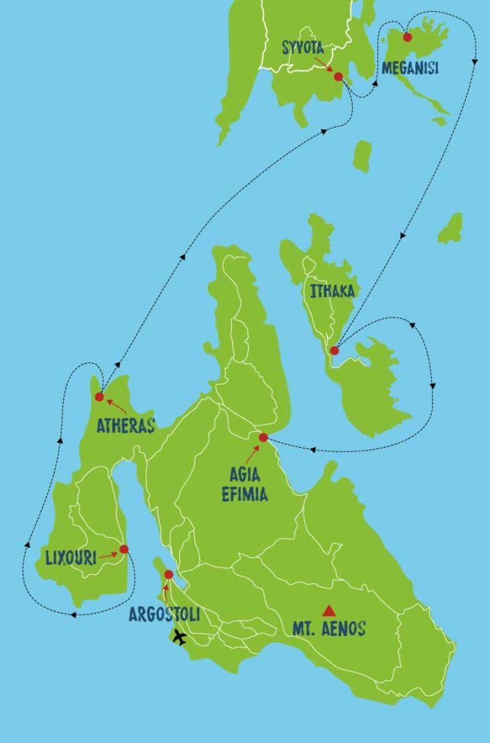 West Coast Flotilla Route Map 2020