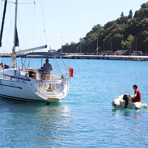 Yacht Support on Flotilla