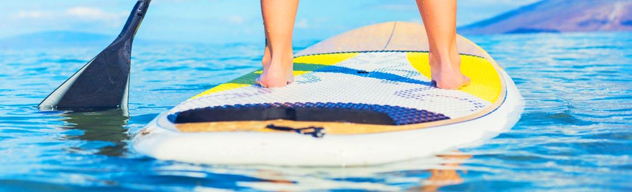 Paddle Boarding in Kefalonia