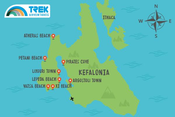 Kefalonia West Coast Holidays
