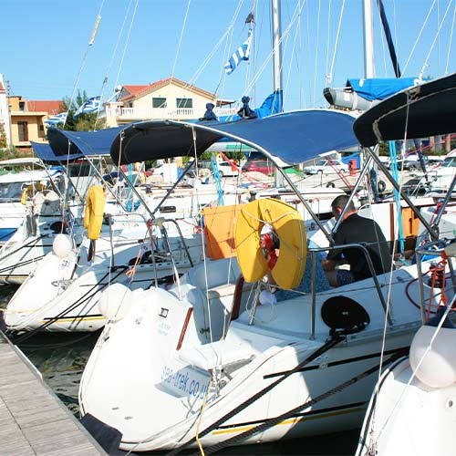 Yachts in Argostoli